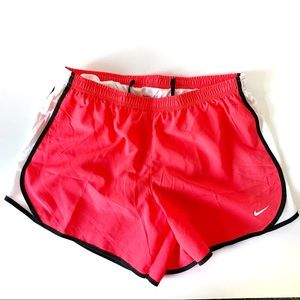 NWT Nike Pink Running Shorts With Brief Girls XL
